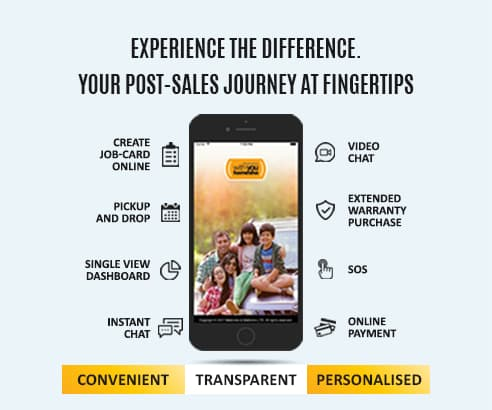 Post-sales journey at finggertips