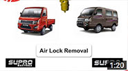 Mahindra Supro - Air Lock Removal (English)